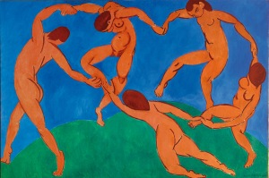 A Dança - Henri Matisse - 1909 - 1910
